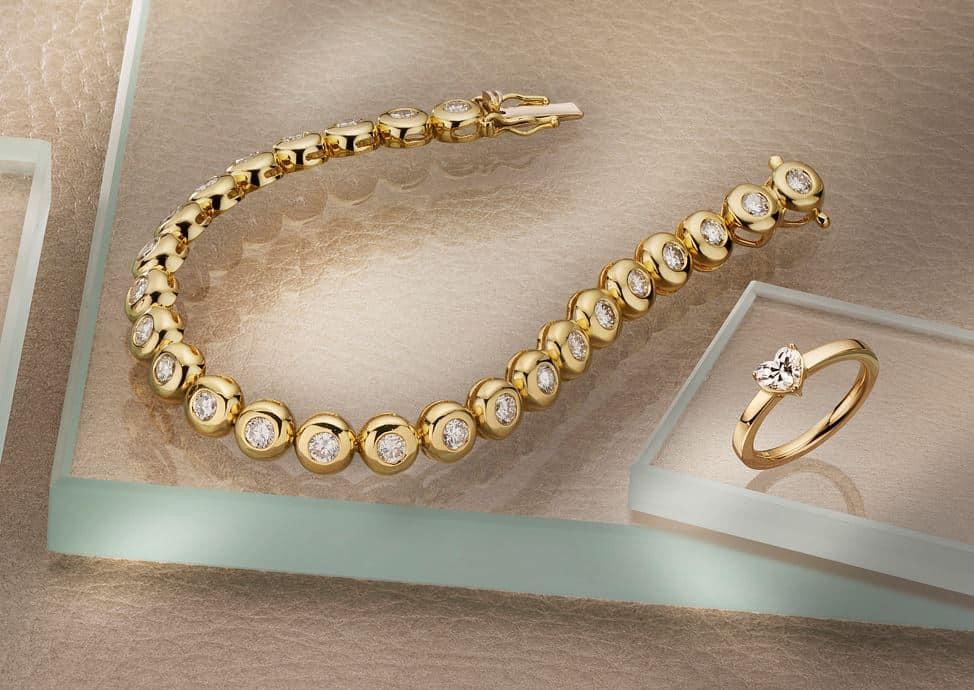 Ring Armband Gold